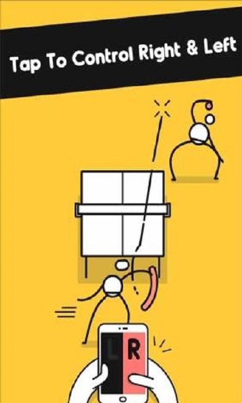 你只需左右快速点击屏幕,控制滑稽又可爱的小人物将乒乓球迅速打回去