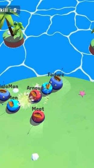 3,游戏色彩搭配非常的鲜艳,活泼可爱是游戏的整体氛围,快来一场欢乐