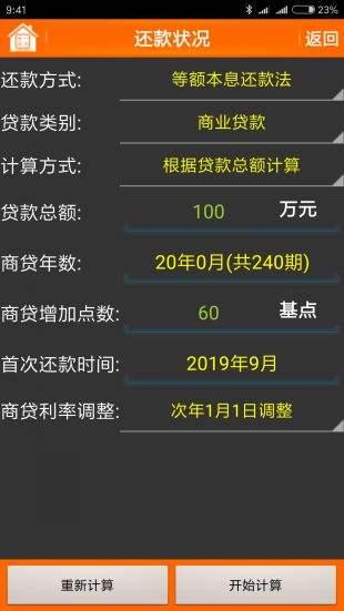 房貸計算器2019最新版