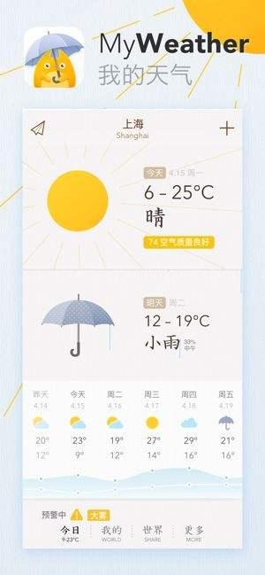 我的天氣app下載