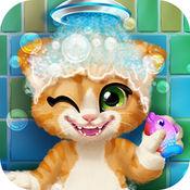 汤姆猫讲卫生爱洗澡