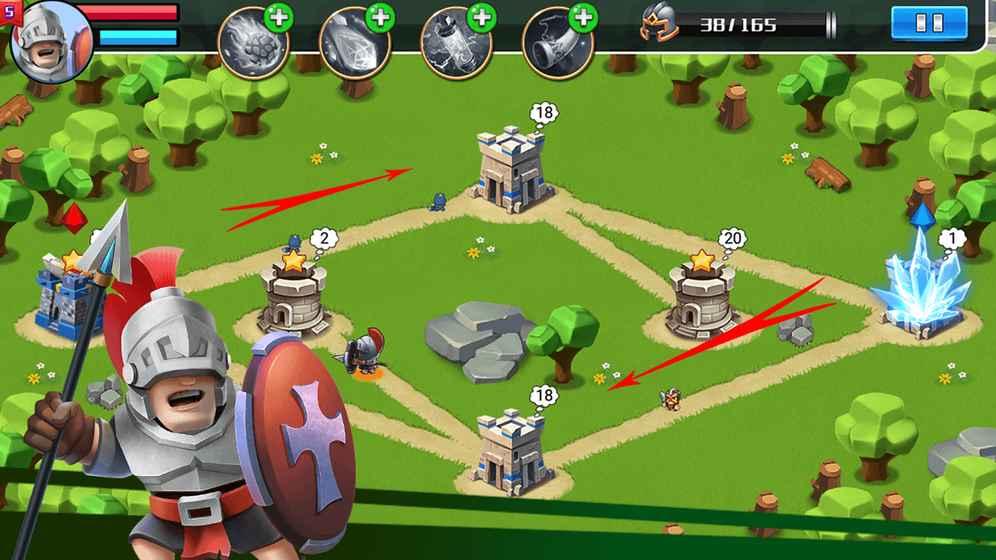 城堡守衛戰截圖