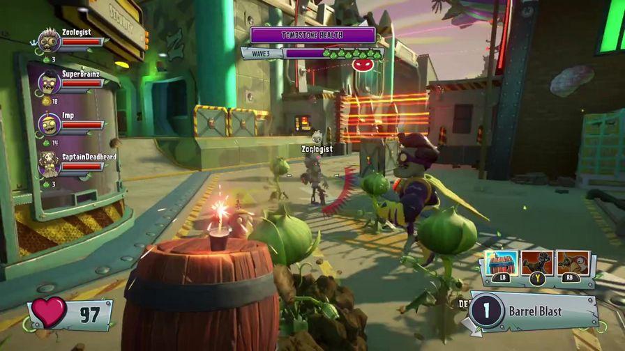 植物大战僵尸花园战争3游戏截图首爆 亮点抢先看